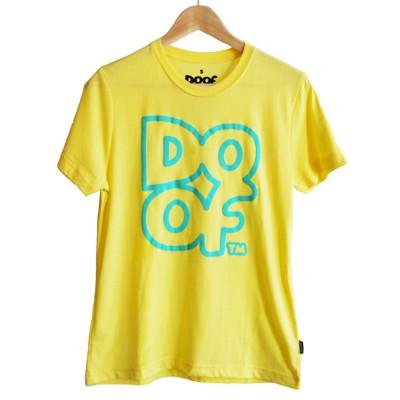 Doof Tee - Outline (Yellow)