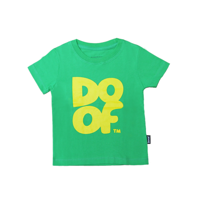Doof Tee - Coloured (Green+Yellow)