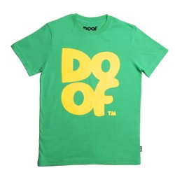 Doof Tee - Coloured (Green+Yellow)