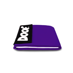 "Roxanne (S) 50"" x 40"" Cover - Royal Purple"