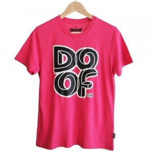 Doof Tee - Maze (Pink)