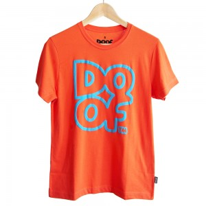 Doof Tee - Outline (Orange)