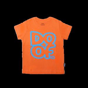 Doof Tee - Outline (Orange)